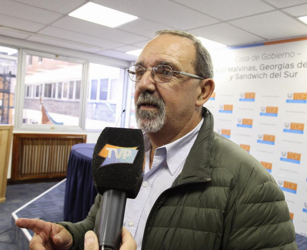 Ministro de Salud de la Provincia Guillermo Ruckauf