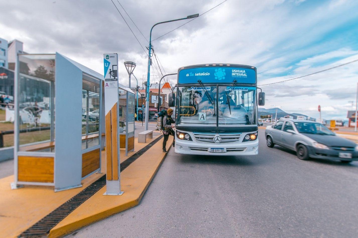 Colectivos de Ushuaia.