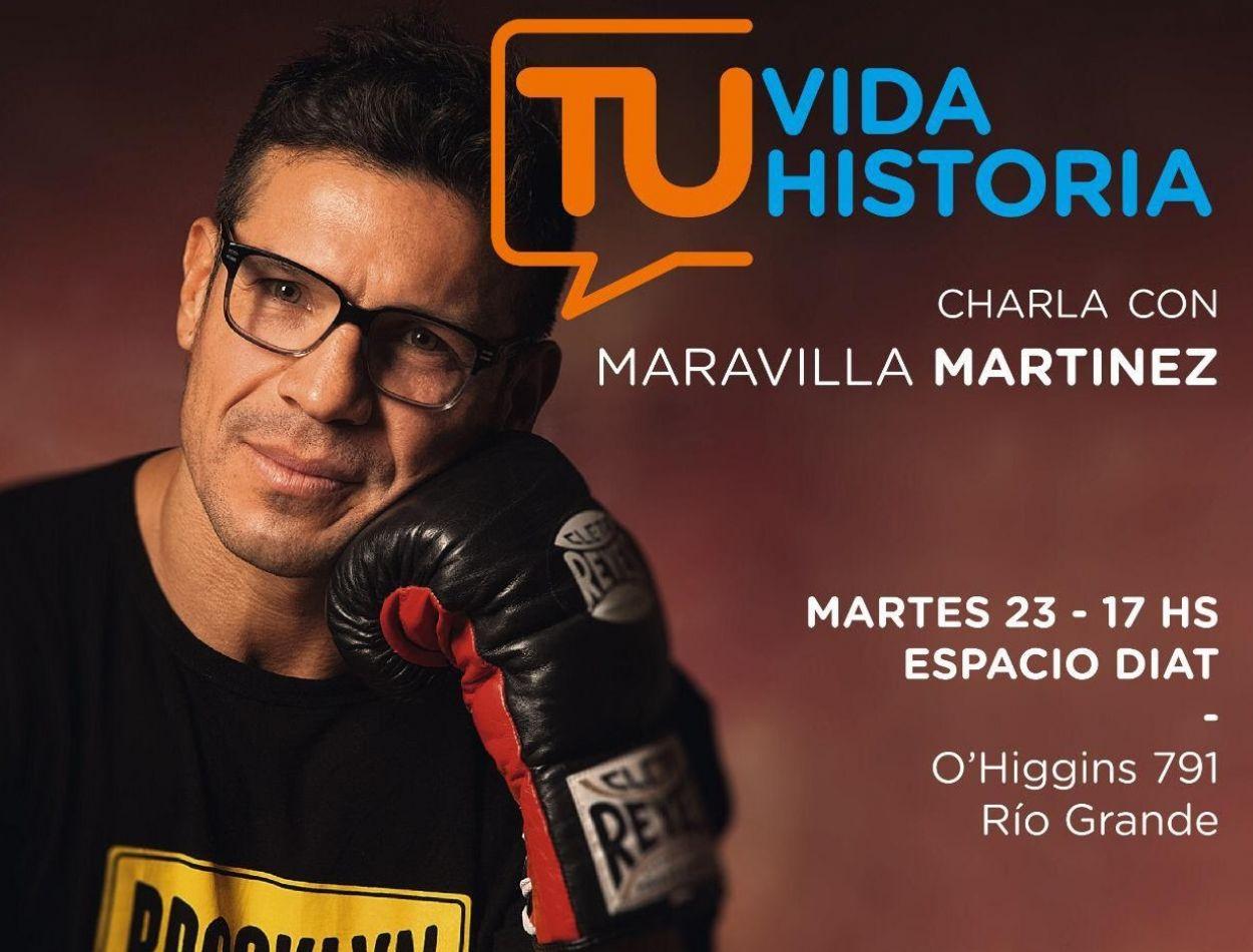 """Clínica de boxeo a cargo de Sergio """"Maravilla"""" Martinez"""