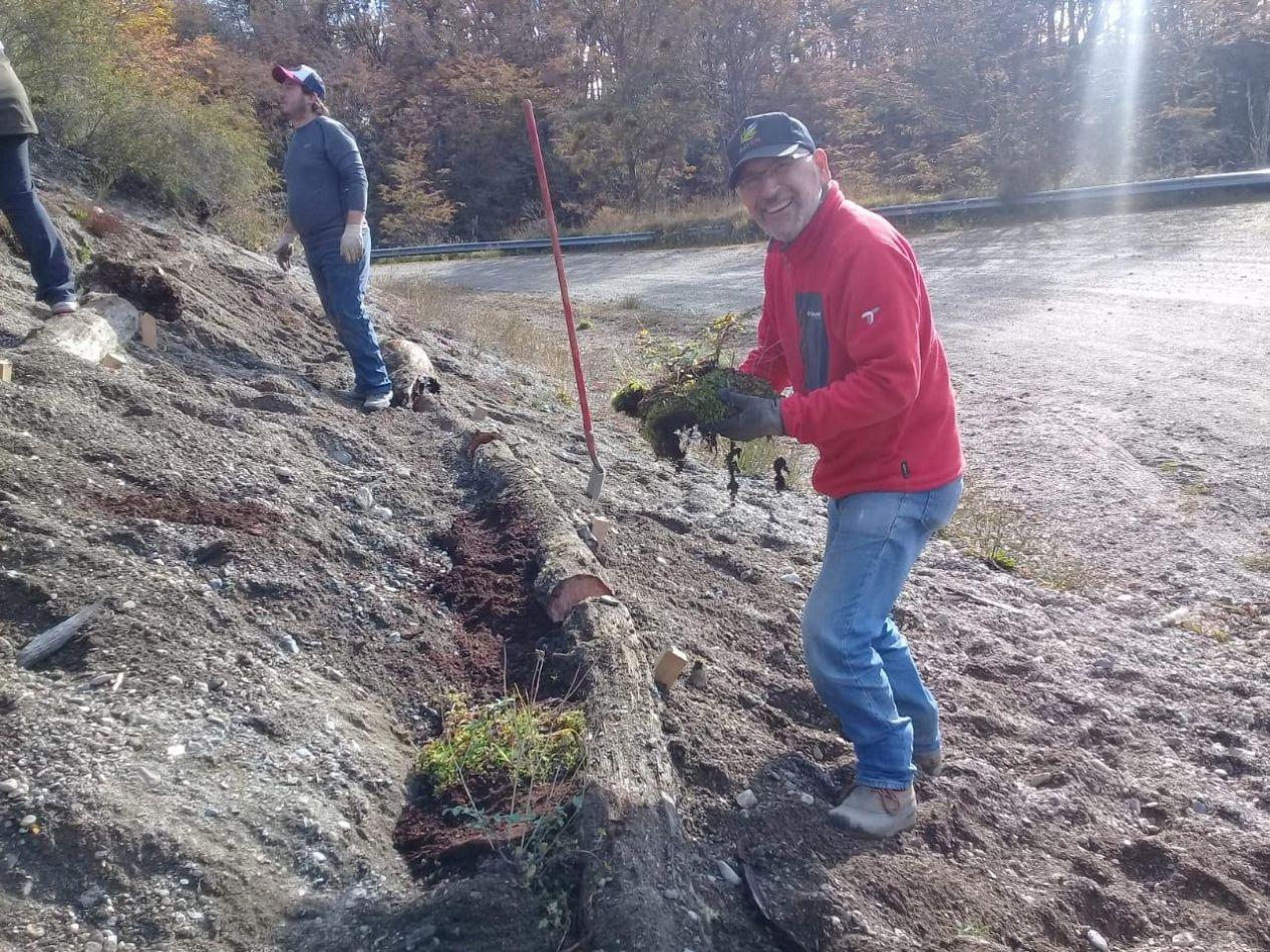 Restauración ambiental en la reserva provincial Río Valdez