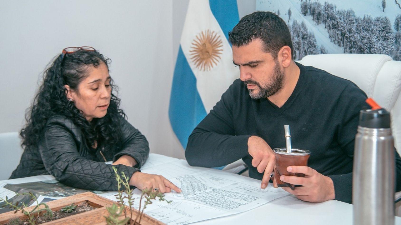 Vuoto recibió a referente de Fueguinos autoconvocados