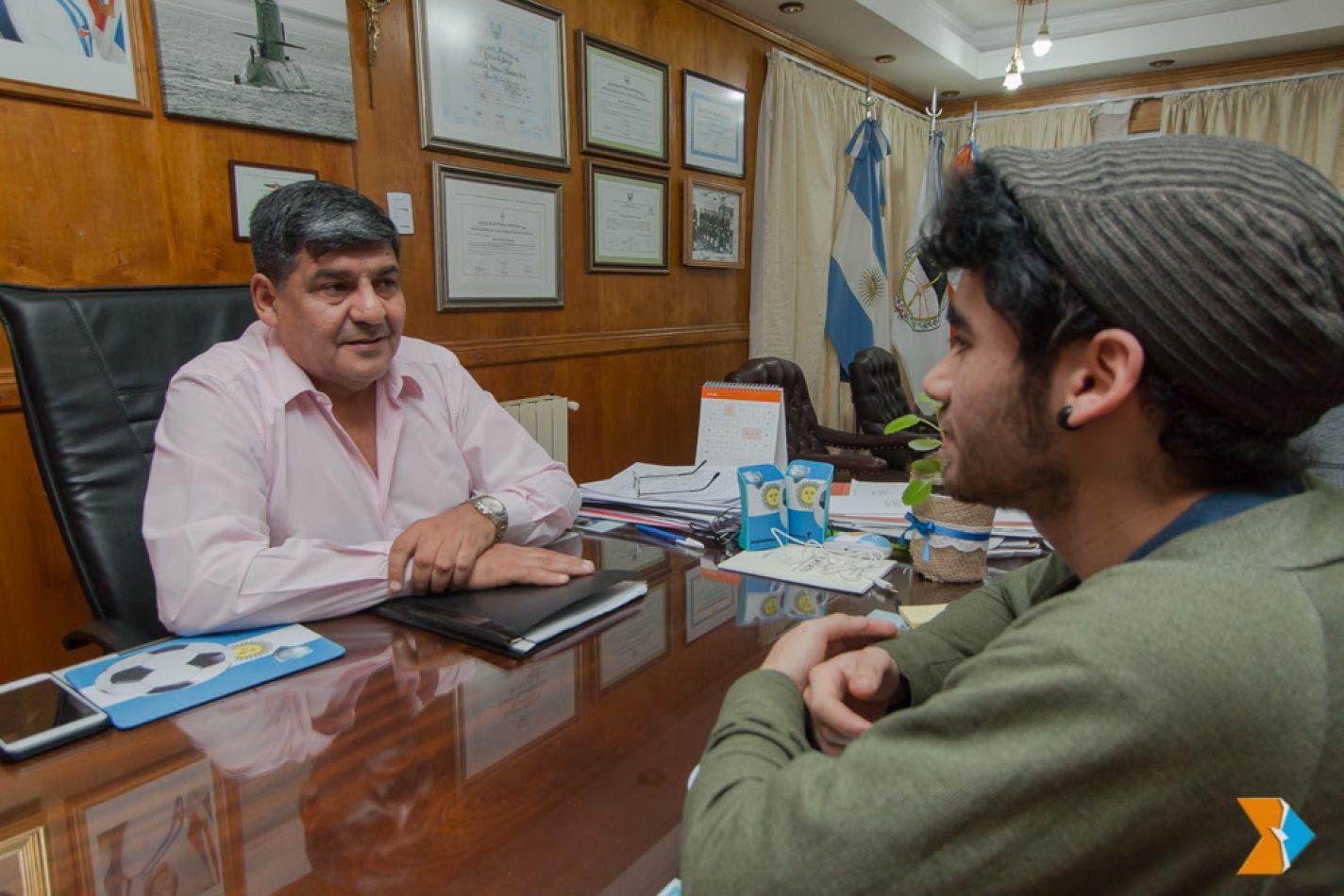 Andrés Guevara del grupo Yattemi fue recibido por Arcando
