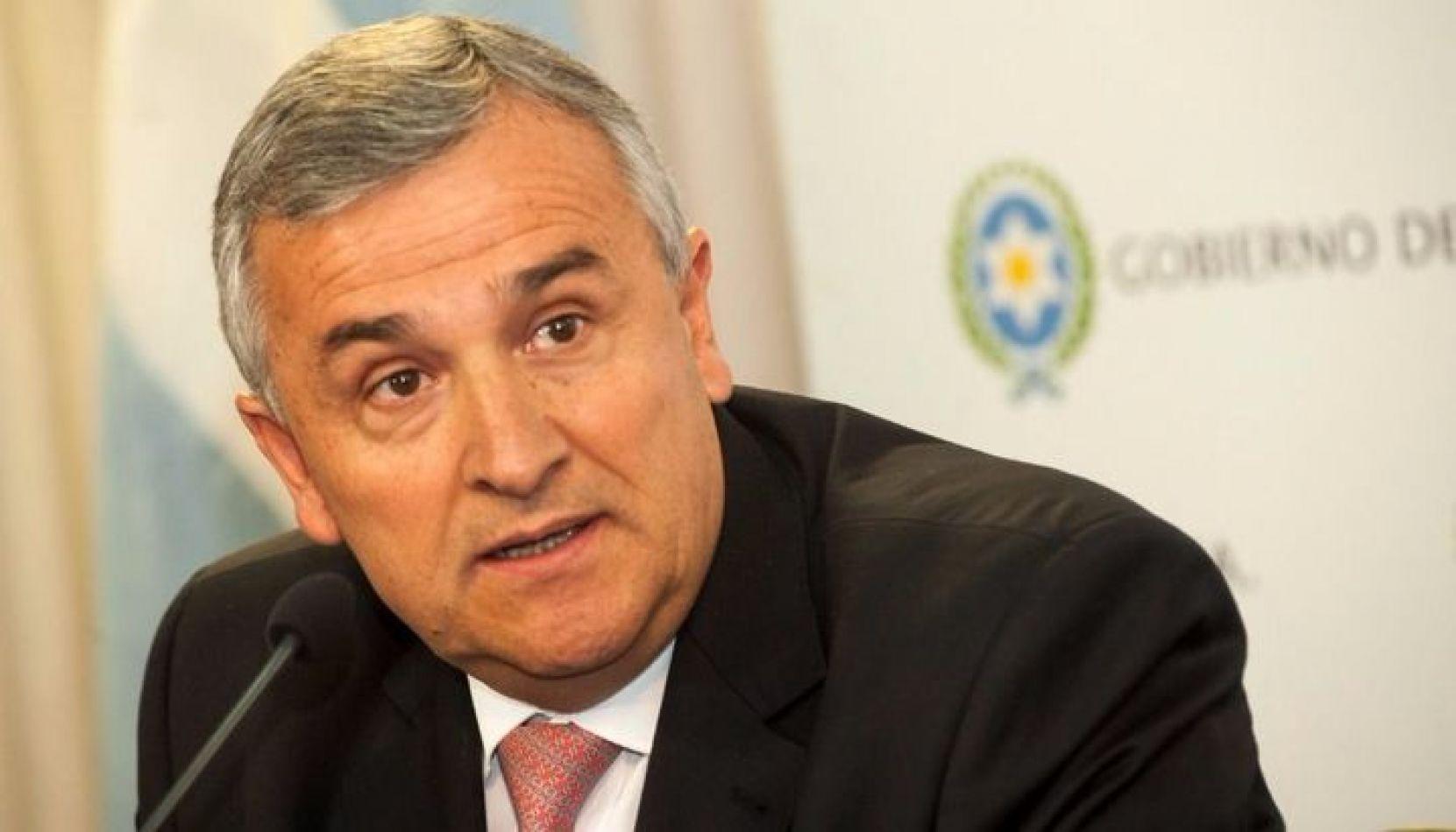 Gobernador de Jujuy Gerardo Morales