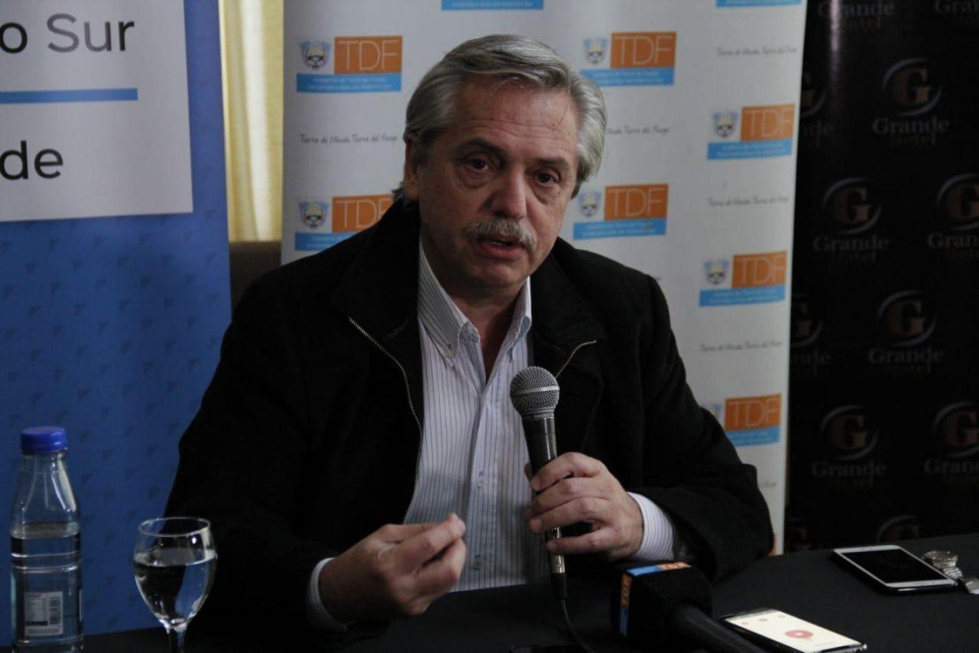 Ex jefe de Gabinete de Ministros de la Nación Alberto Fernández