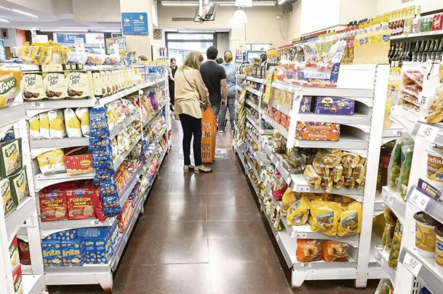 Sin freno. La suba en alimentos y bebidas tuvo impacto directo en la inflación de marzo en las provincias que miden su propio IPC.