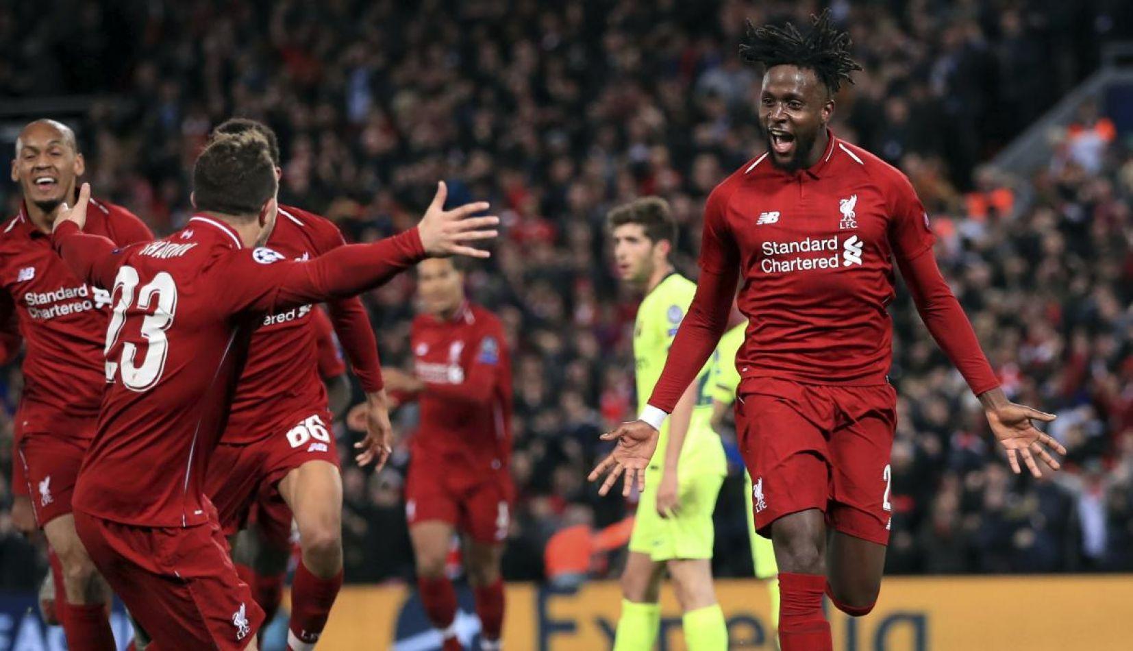 Liverpool ganó por goleada