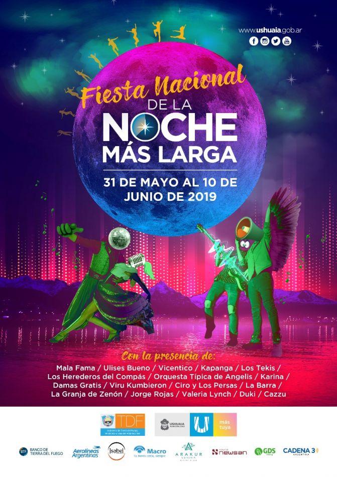 Fiesta Nacional de la Noche más Larga edición 2019