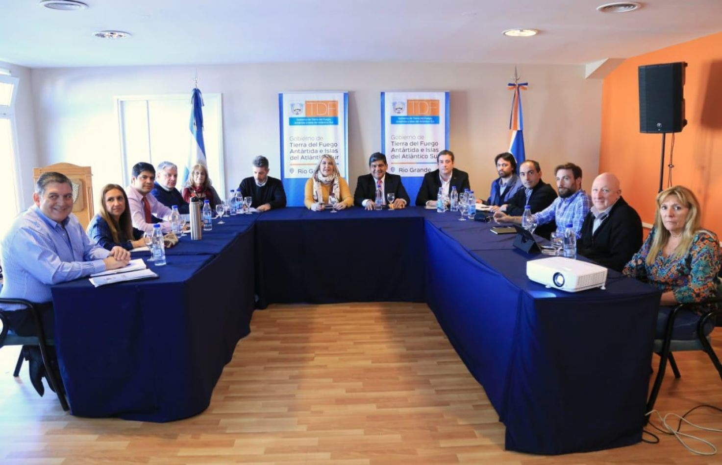 Gabinete económico y Social en Río Grande