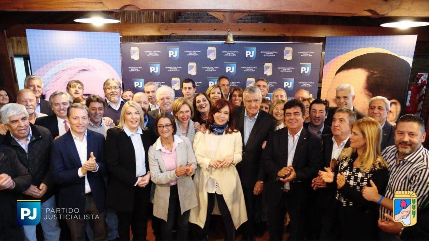 Rosana junto a Cristina por la unidad nacional del peronísmo