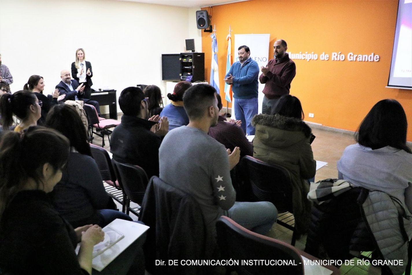 Destacaron la gestión en seguridad laboral del municipio de Río Grande