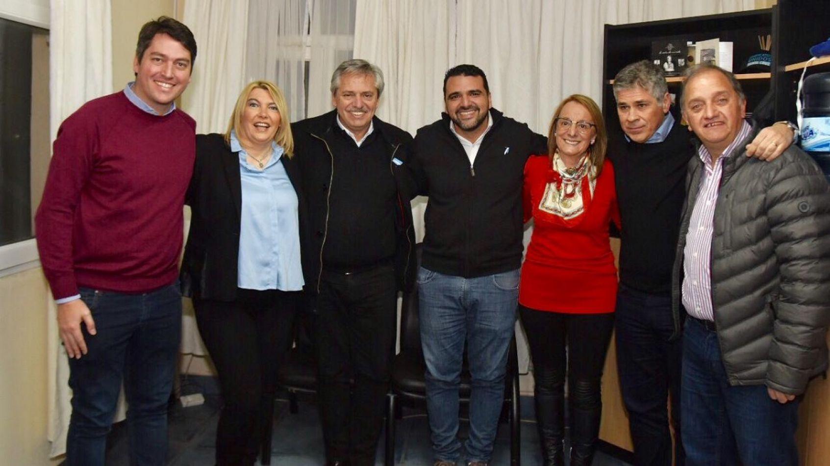 Alberto Fernández, respaldó a Bertone, Vuoto y Martín Pérez