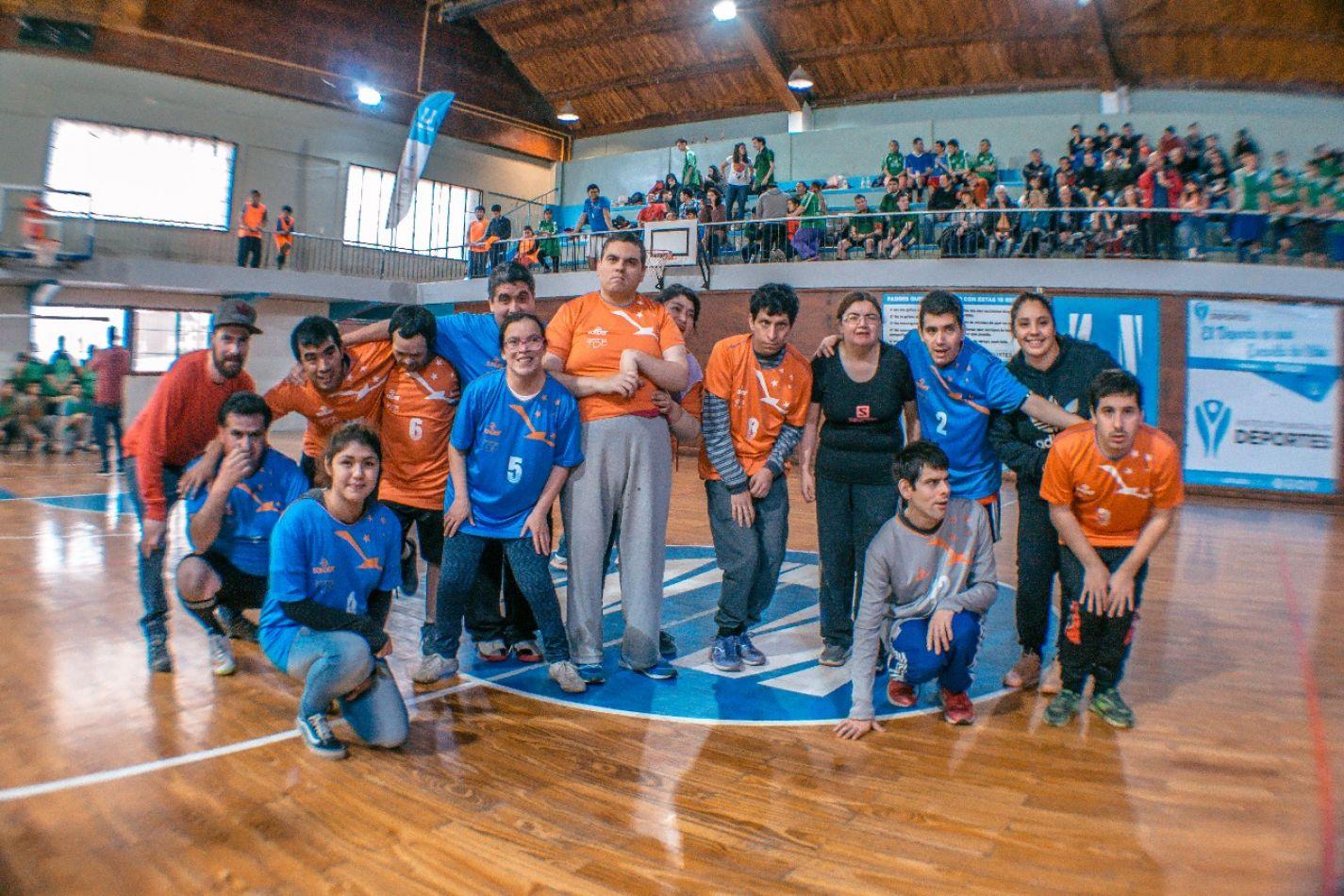 Comenzó la Liga Inclusiva de Futsal
