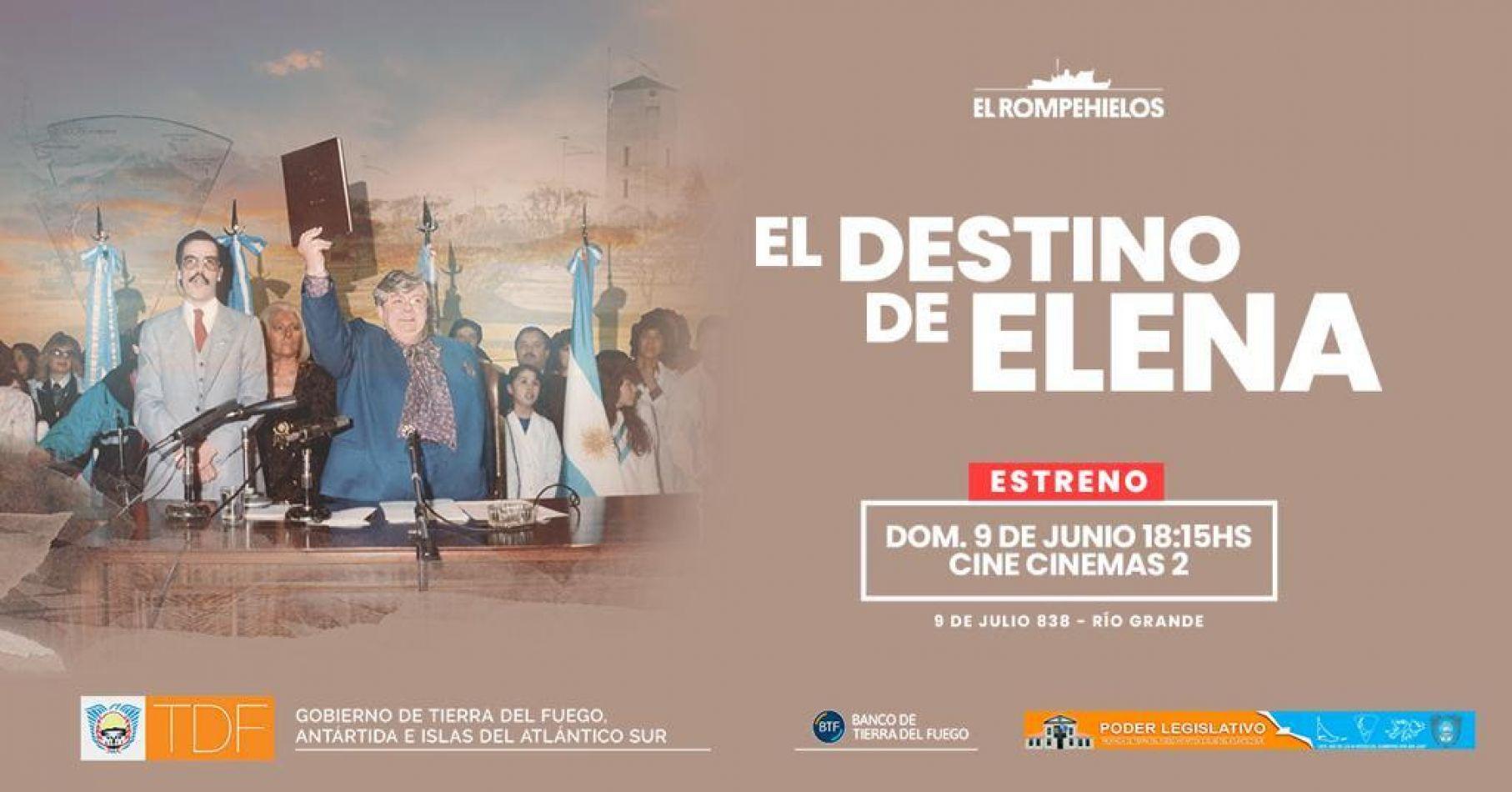 """Presentación cinematográfica """" El Destino de Elena"""""""