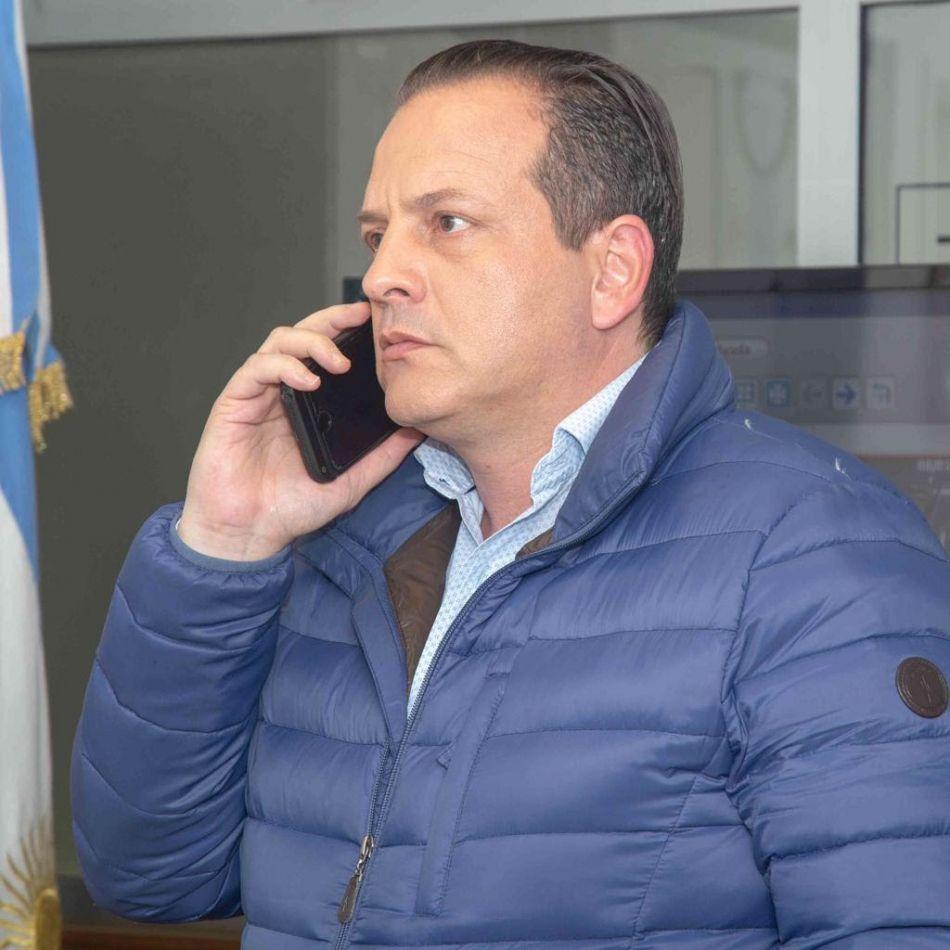 Secretario de Estado de Seguridad Javier Eposto