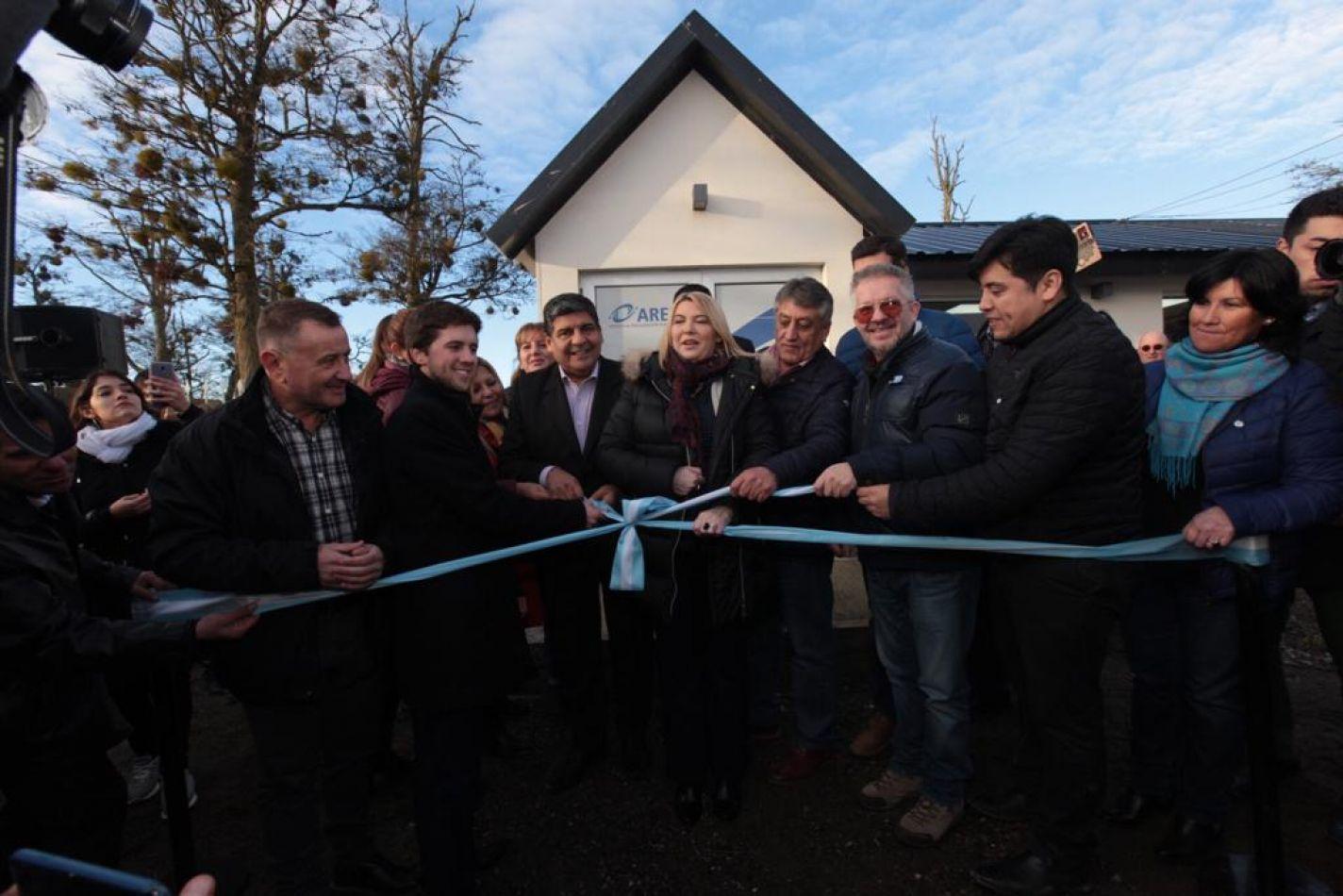 Gobierno inauguró la nueva sede de la AREF