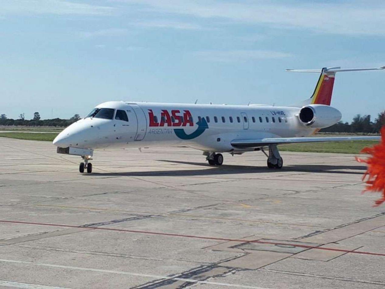 LASA presentó las nuevas rutas para volver a volar desde Neuquén