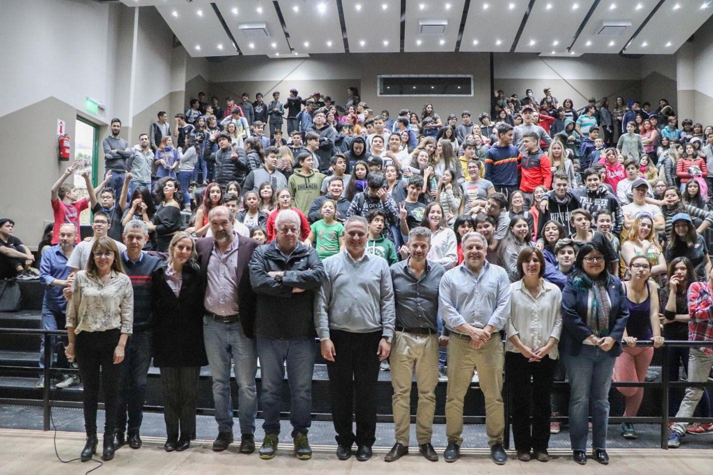 Se inauguró la ampliación del Colegio Los Andes