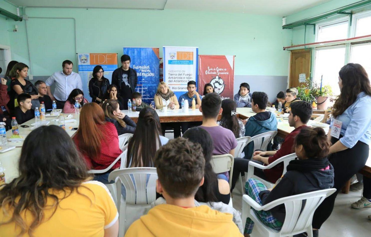 """Cierre del """"Foro Provincial de Centros de Estudiantes Secundarios"""""""
