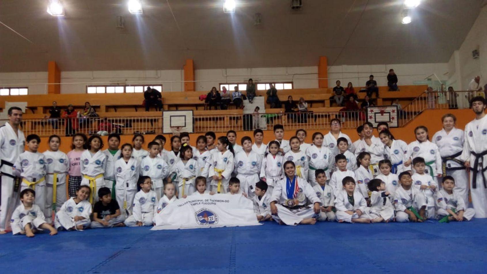 Taller de Taekwondo en Río Grande