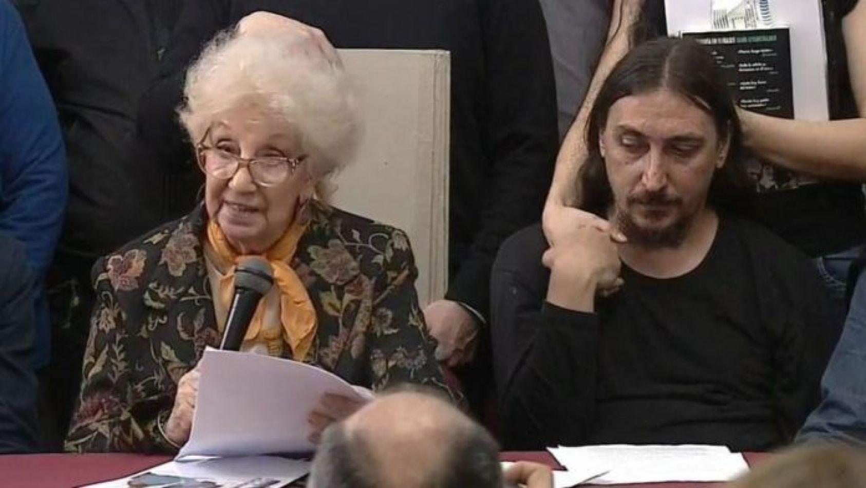 Estela de Carlotto presentó al Nieto 130: Matías Darroux Mijalchuk