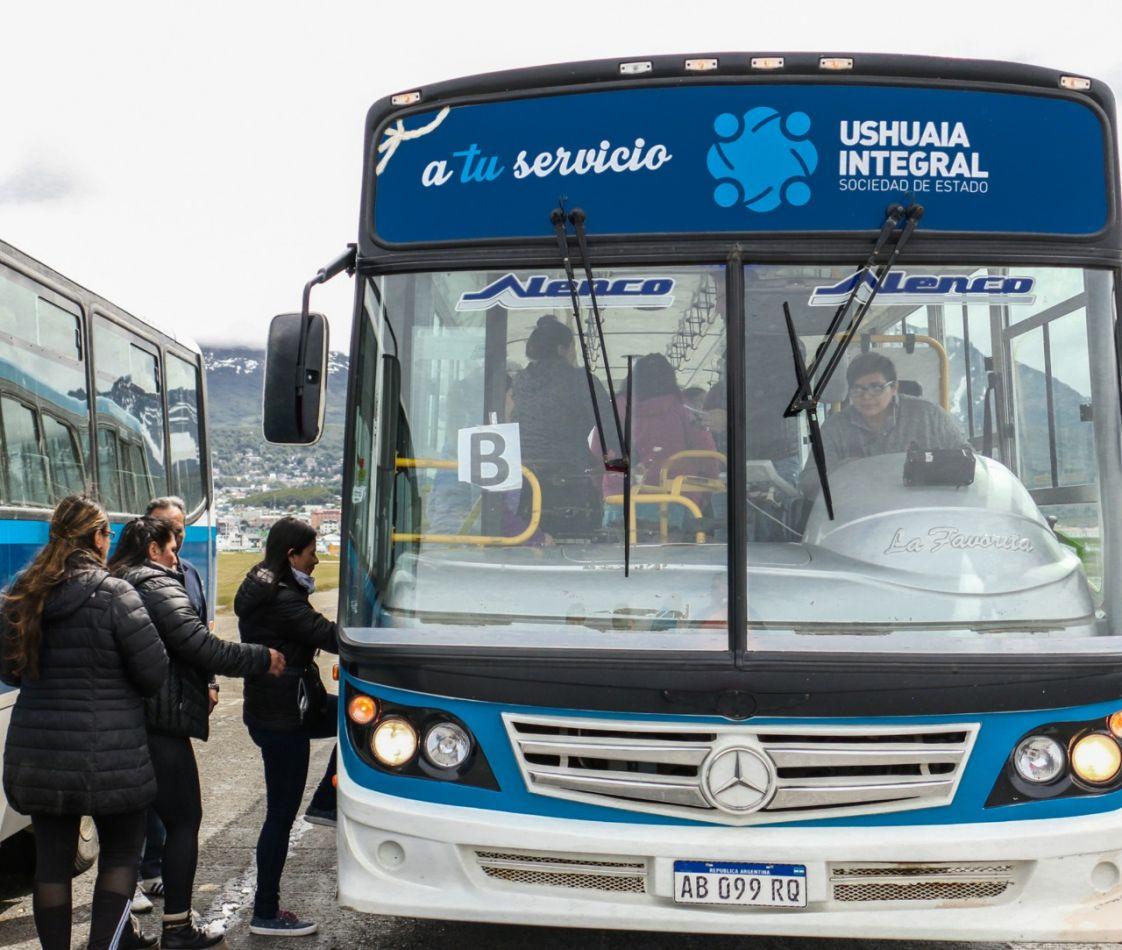 Ushuaia refuerza la frecuencia de colectivos para el día de las elecciones