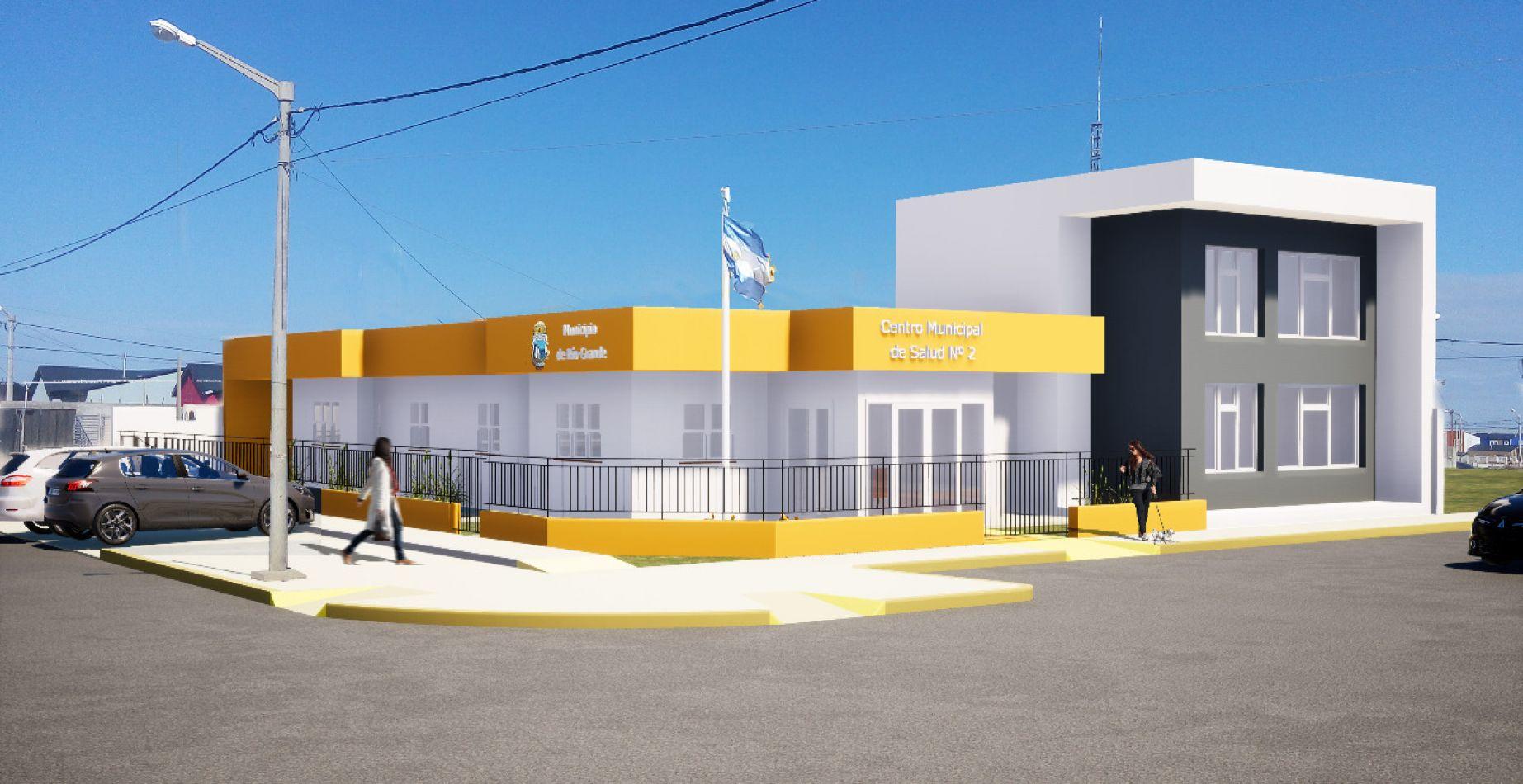 El proyecto de ampliación del Centro Municipal de Salud Nº 2