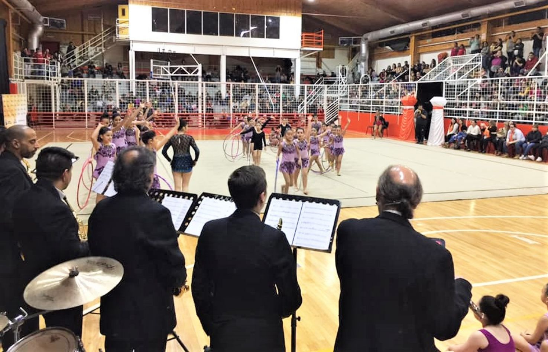 Más de 200 gimnastas participaron del Torneo de Gimnasia Rítmica