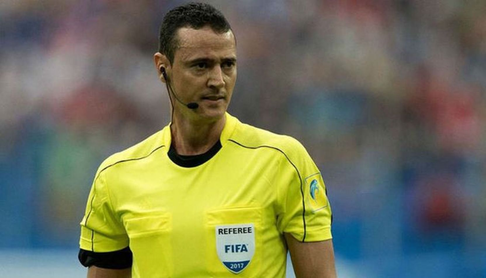 Wilmar Roldán, árbitro colombiano, fue el hombre designado para el encuentro entre Argentina y Venezuela