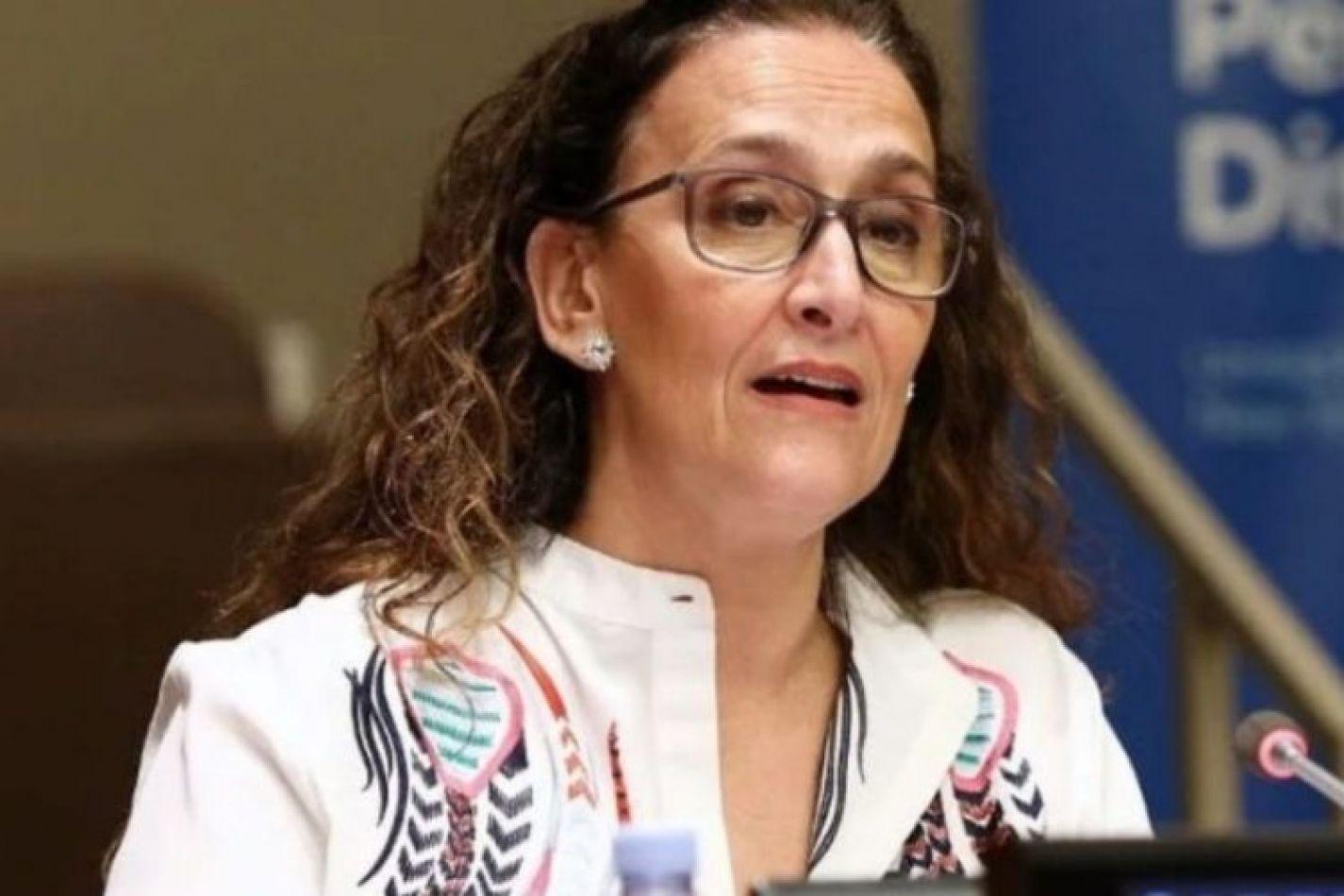 La vicepresidenta de la Nación y titular del Senado, Gabriela Michetti