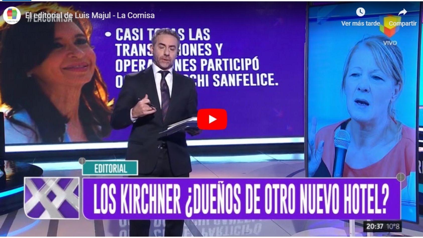 Otra denuncia de corrupción contra Cristina Fernández