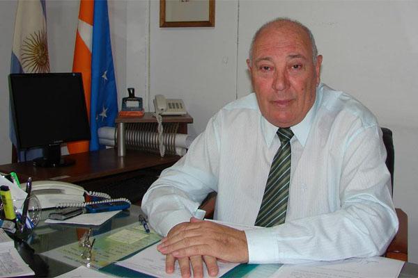 Presidente del Instituto Provincial de Vivienda, José Del Giúdice.