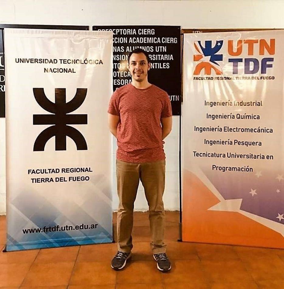 Alumno de la UTN, distinguido a nivel nacional con un premio a la Excelencia