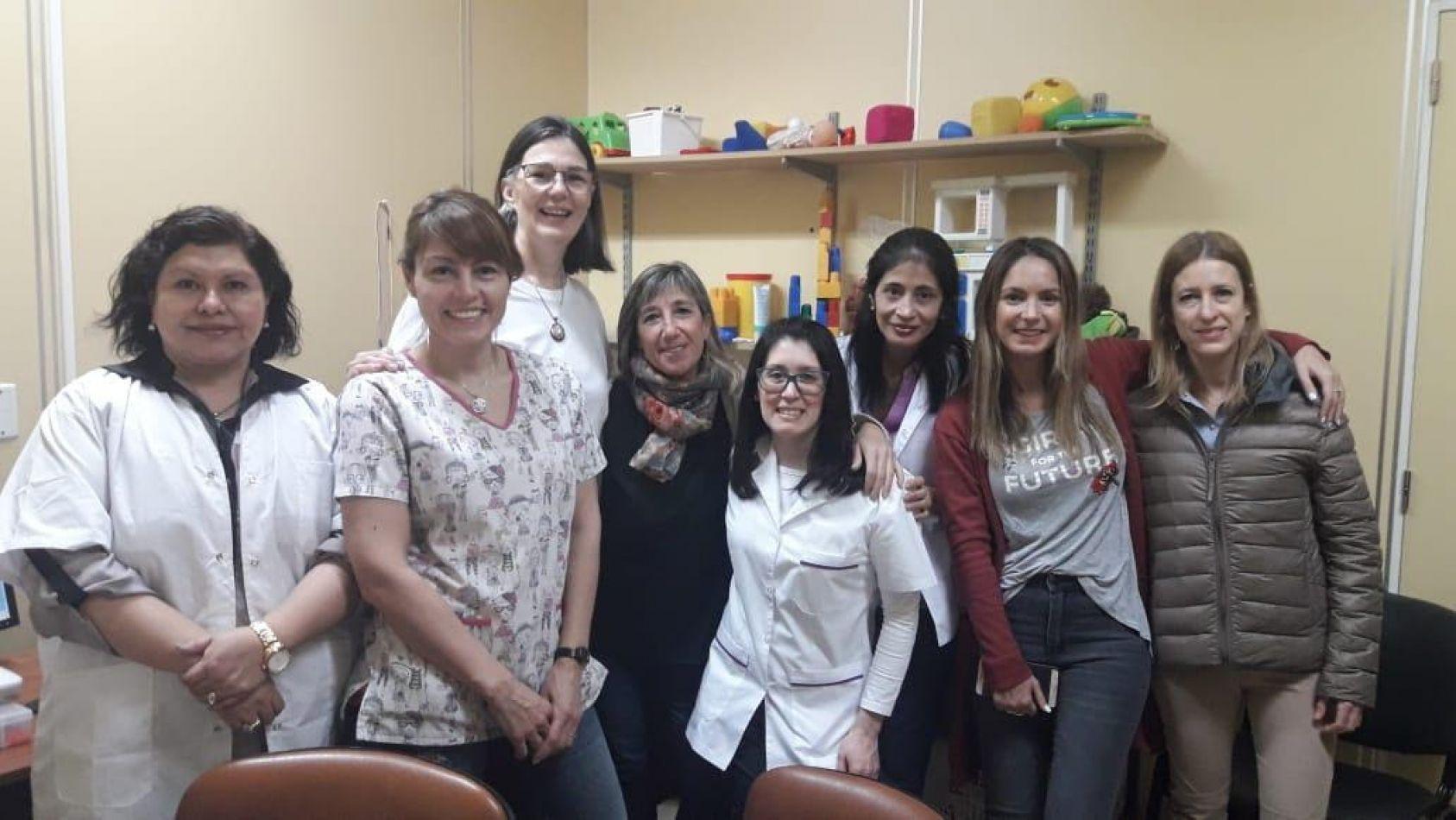 Capacitación para los equipos de Fonoaudiología de los nosocomios regionales
