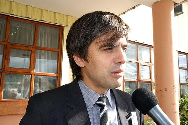 Secretario de Gobierno del Municipio de Río Grande, Paulino Rossi.