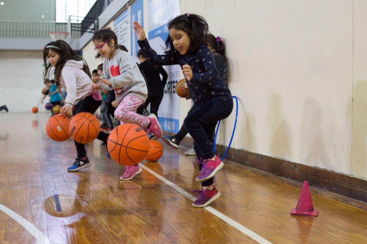Comenzaron los talleres deportivos en Ushuaia