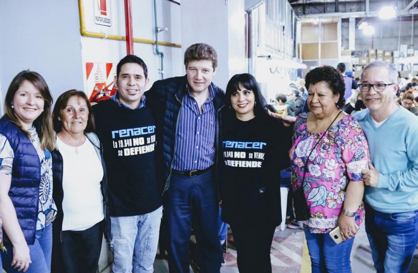 Candidatos y electos de FORJA, en el bingo de la Cooperativa Renacer