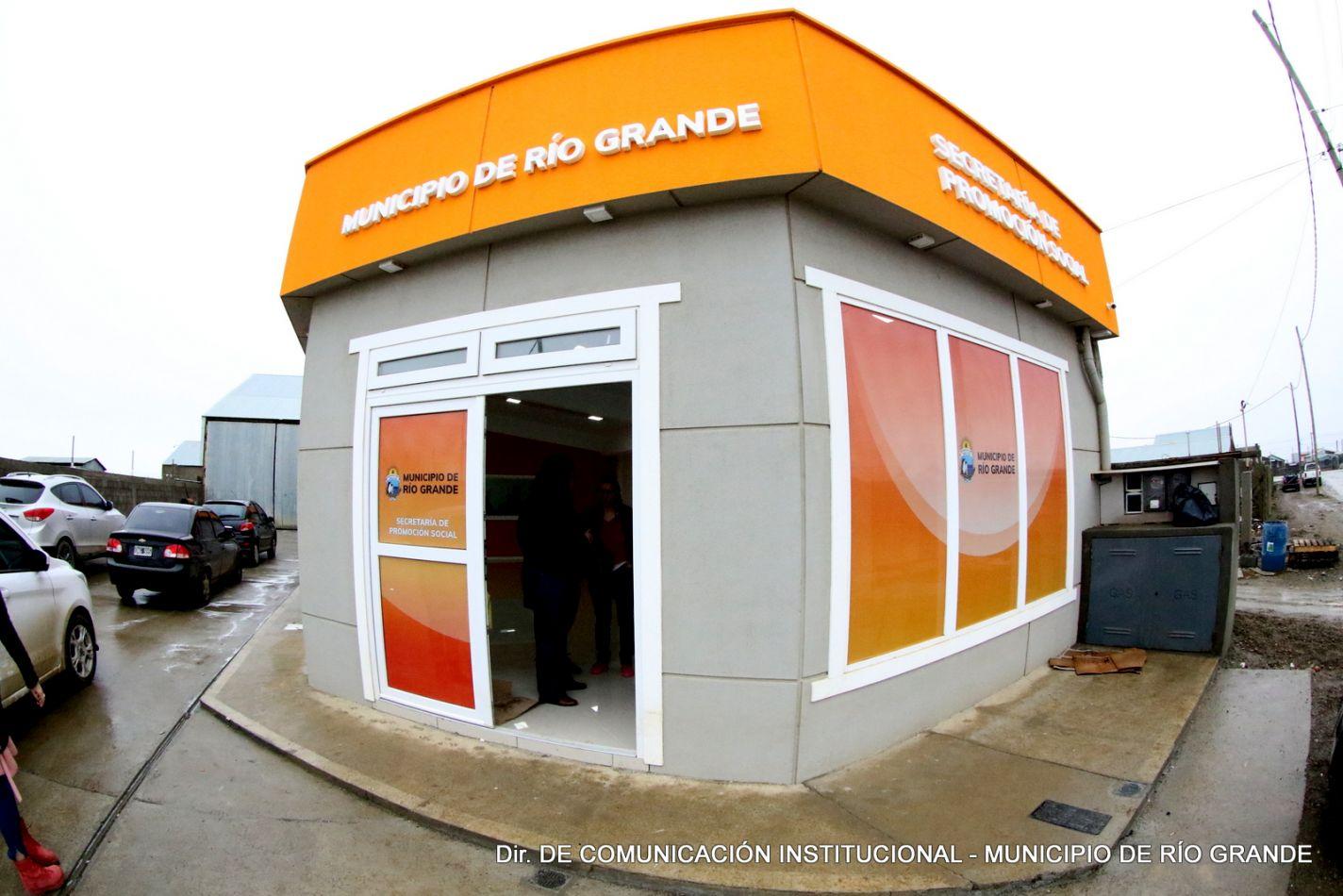 Secretaría de Promoción Social ubicada en Luis Pi.