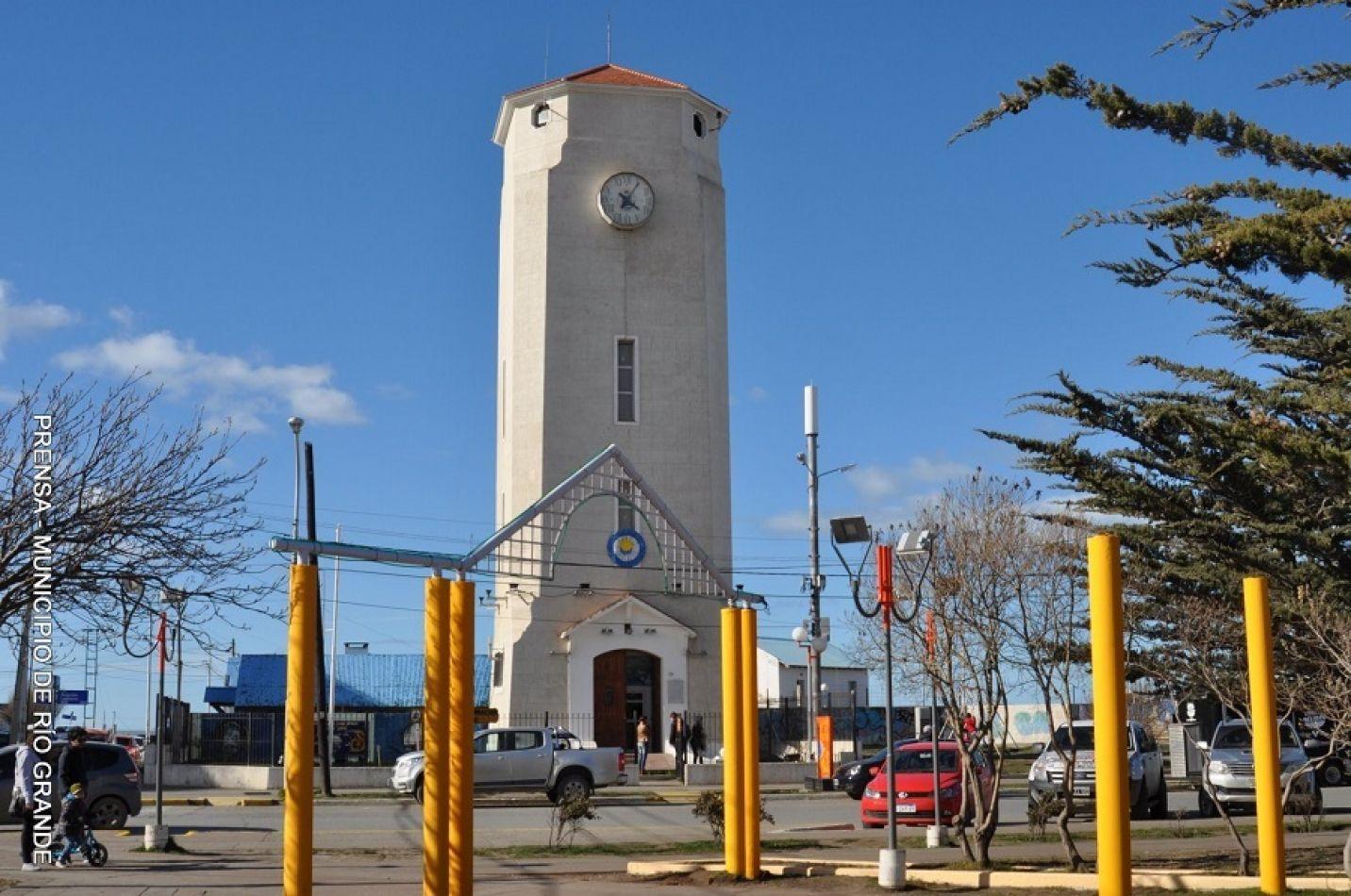 Torre de Agua de la ciudad de Río Grande