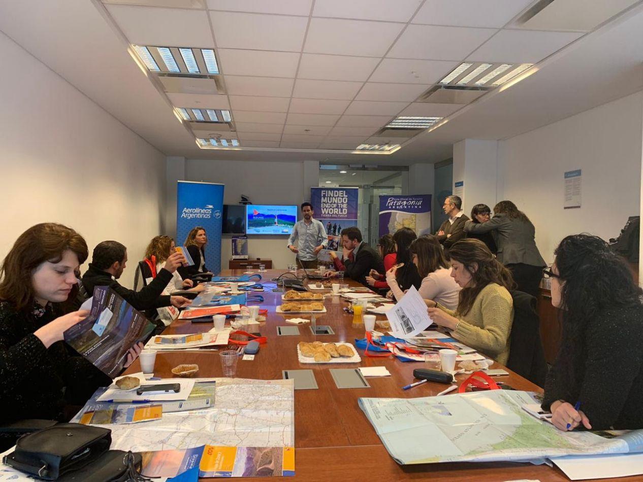 El  INFUETUR capacitó a agentes de viaje sobre zona norte, Tolhuin y Almanza