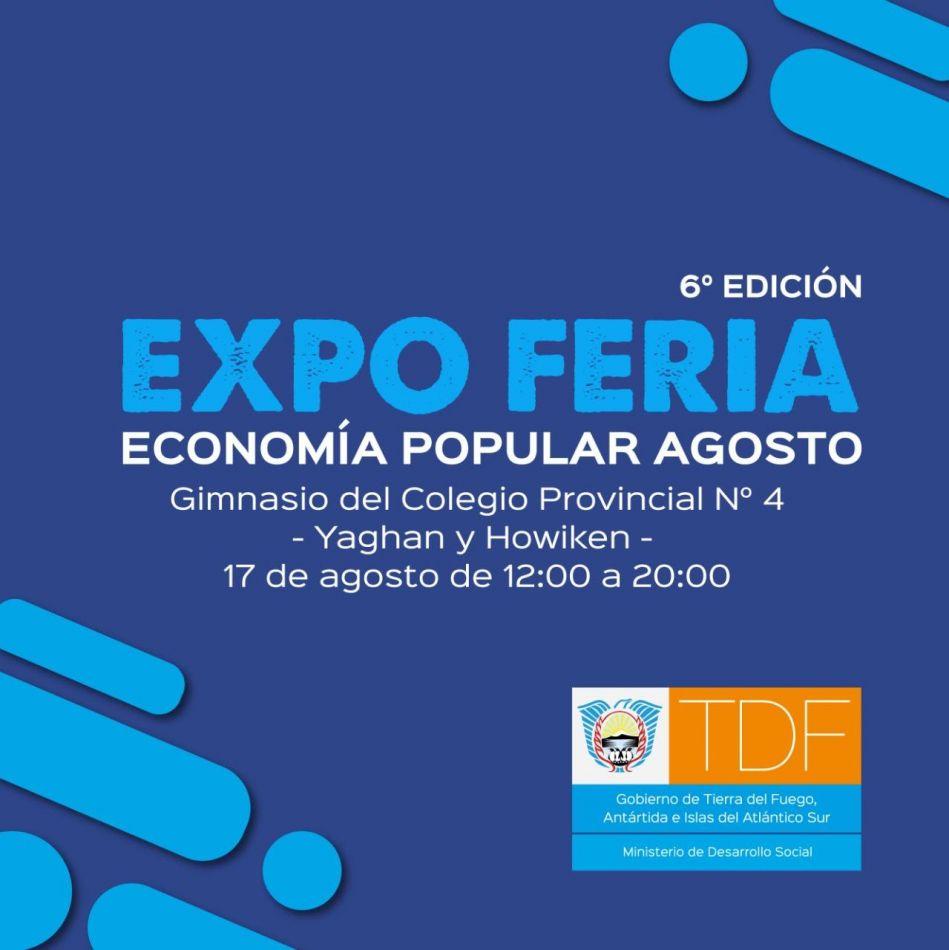 """Nueva edición de la """"Expo Feria de la Economía Popular"""""""