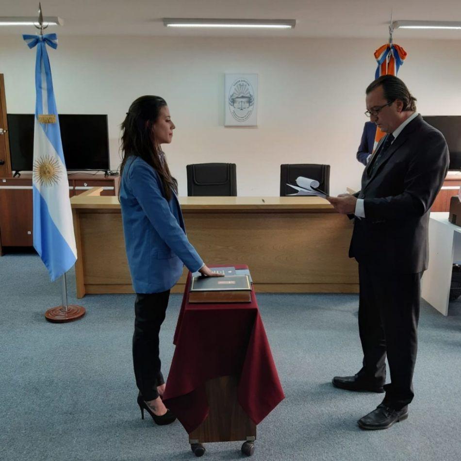 Doctora Mariel Desireé Zarate, quien asumió como Secretaria Interina del Ministerio Público Fiscal
