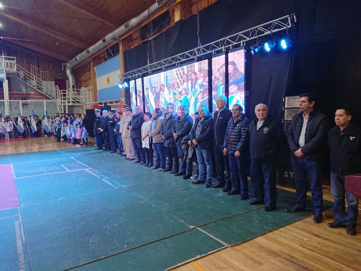 Se realizó el acto por el 169° aniversario del fallecimiento del Gral San Martín