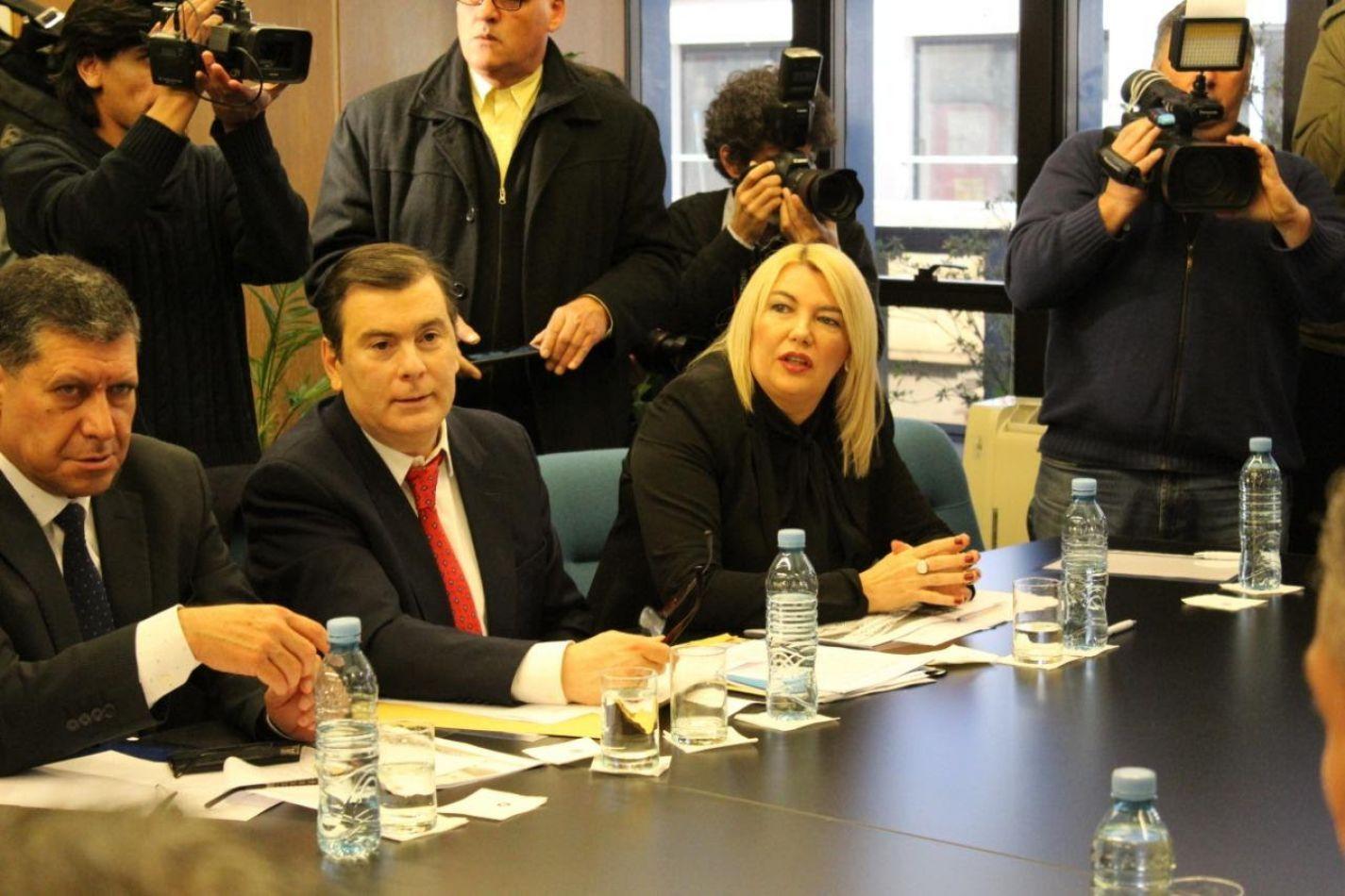 Reunión llevada a cabo en la sede del Consejo Federal de Inversiones