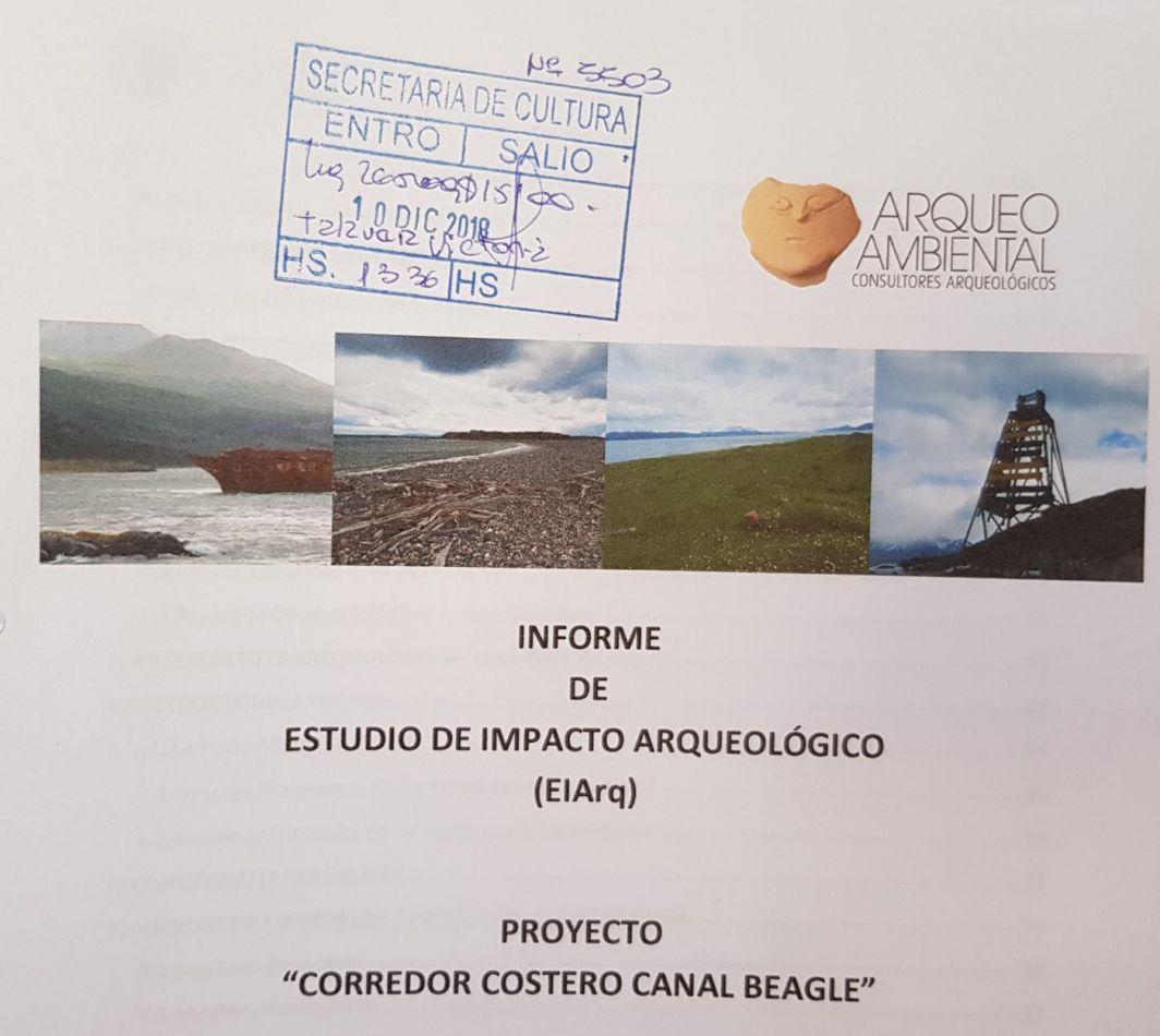 La Secretario de Cultura confirmó que el estudio de impacto arqueológico fue presentado