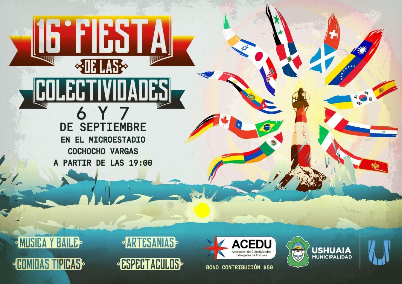 16° Fiesta  de las Colectividades