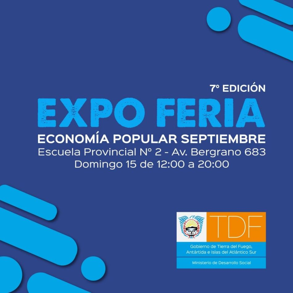 """Se realizará la """"Séptima Edición de la Expo Feria de Economía Popular"""""""