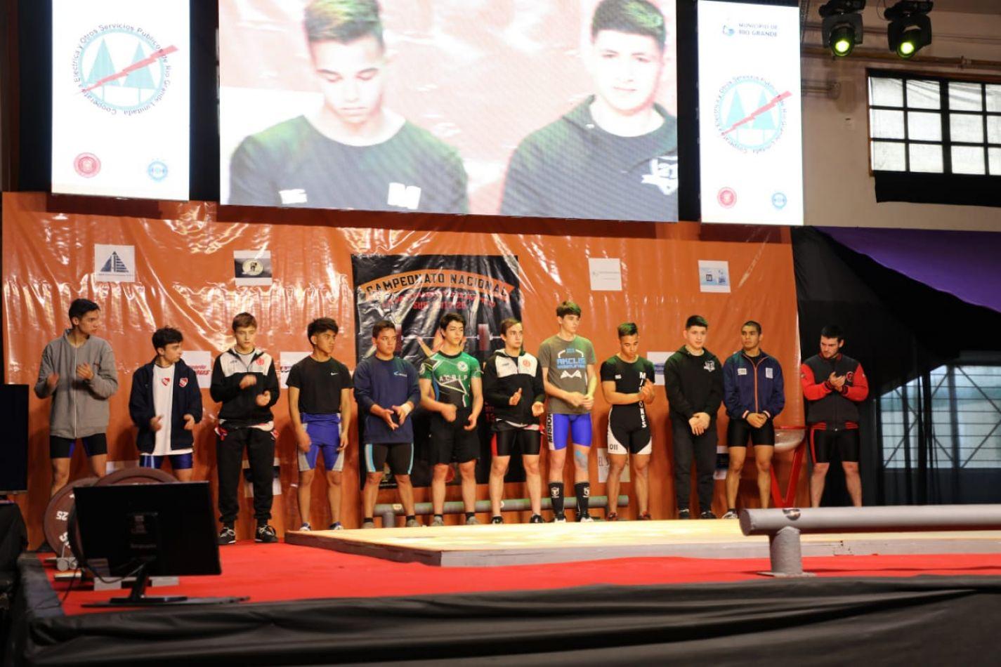 """Se llevó adelante el """"Campeonato Nacional de Levantamiento Olímpico"""