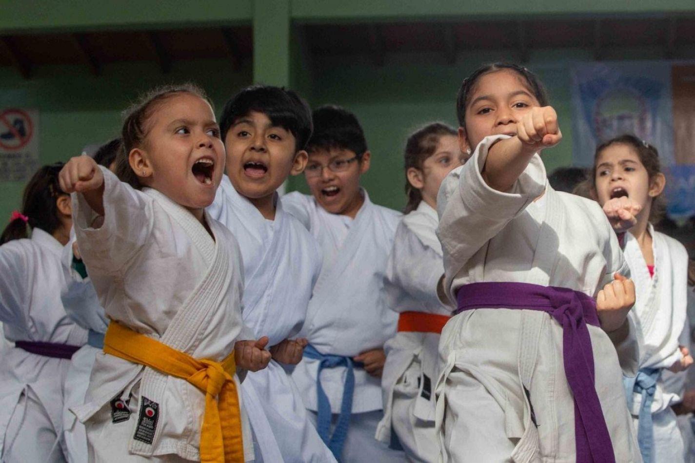 Cierre del Torneo Nacional de Karate y Kodokan