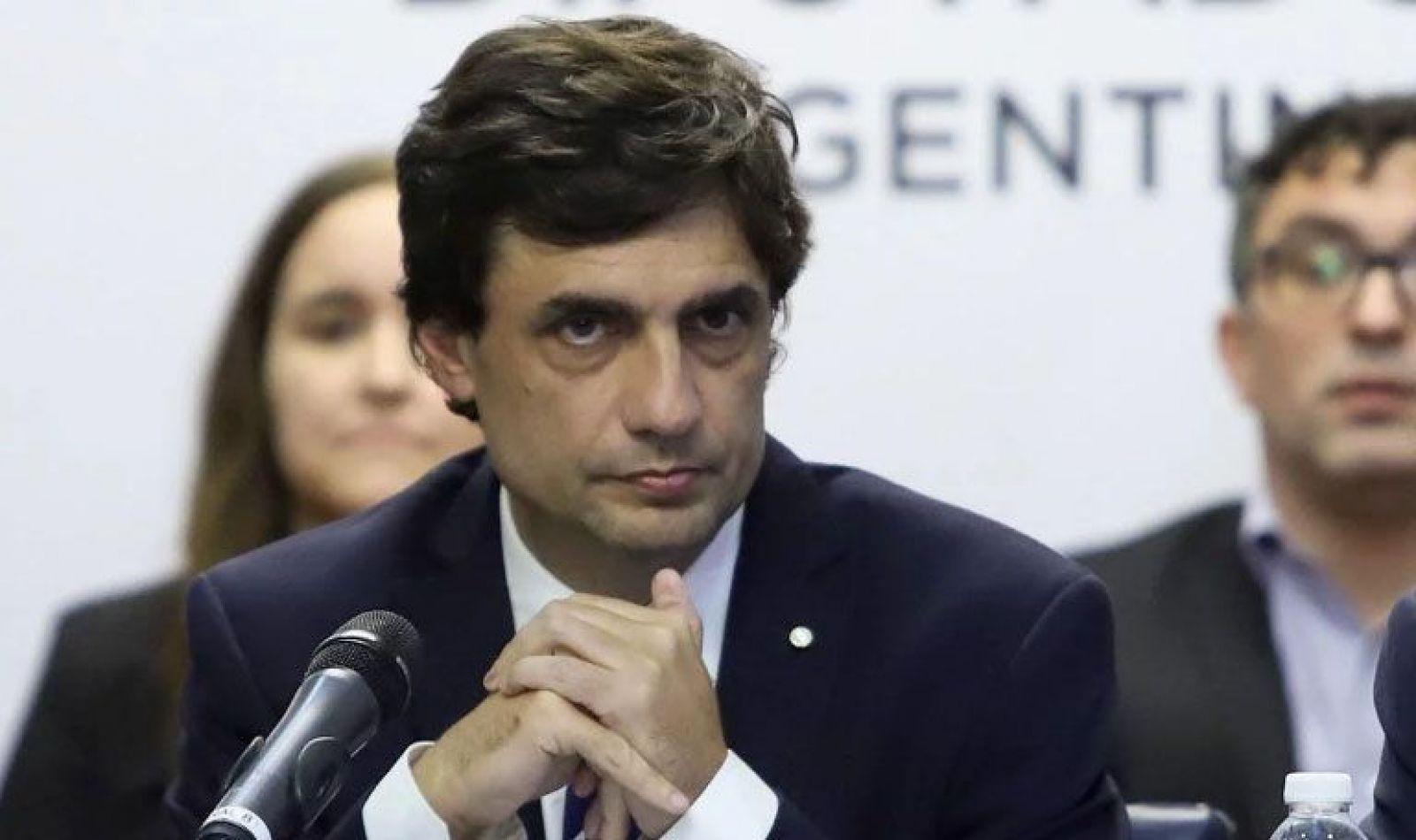 Ministro de Hacienda, Hernán Lacunza,