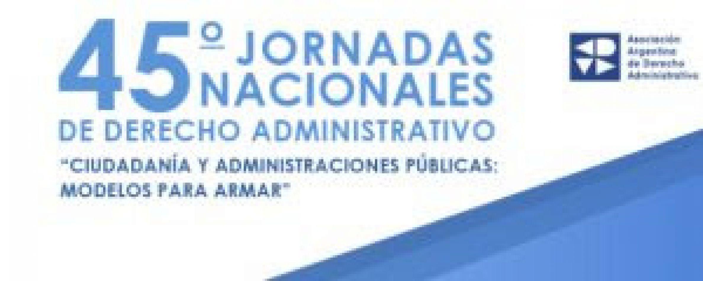 Jornadas Nacionales de Derecho Administrativo